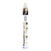 Moustiquaire pour fenêtre Easykit 1717 Fikszo 120x150 cm brun