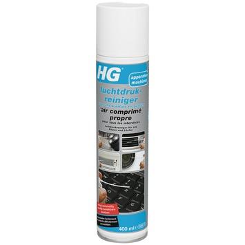 HG luchtdrukreiniger kieren en gaten 400 ml