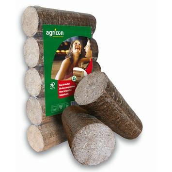 Briquettes de bois rondes 10 kg