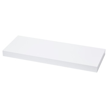 Tablette volant 38 mm 60x23,5 cm blanc