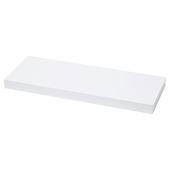 Tablette volant 38 mm 60x23,5 cm blanc