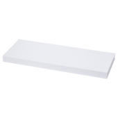 Handson tablette murale 38 mm 60x23,5 cm blanc brillant