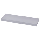 Handson wandplank 38 mm 80x20cm aluminium