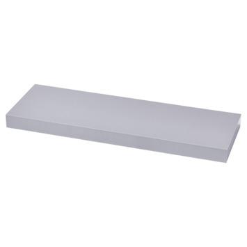 Handson wandplank 38 mm 120x20 cm aluminium