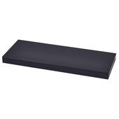 Handson wandplank 38 mm 120x23,5 cm zwart