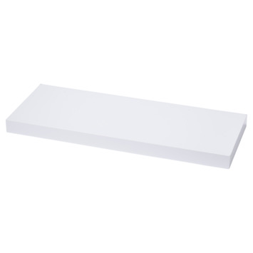 Handson tablette murale 38 mm 120x23,5 cm blanc brillant