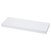 Handson tablette murale 38 mm 80x23,5 cm blanc brillant