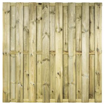 Tuinscherm Jumbo Grenen Recht ca. 180x180 cm