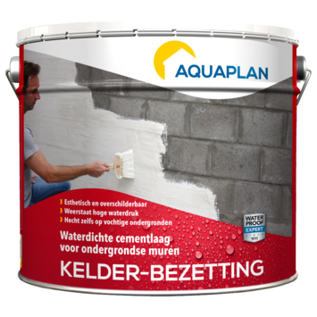 Aquaplan Kelder-bezetting cementcoating waterdicht 10 kg