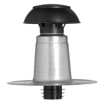 Cheminée de ventilation double paroi Aquaplan synthétique ø 110/125 mm