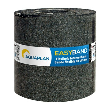 Aquaplan easy-band afwerkstrook 10 m x 18 cm