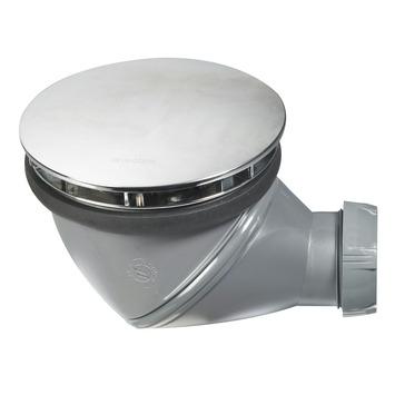 Siphon de douche avec bouchon James Wirquin chromé ø90 mm