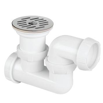 Siphon de douche orientable Wirquin ø50 mm