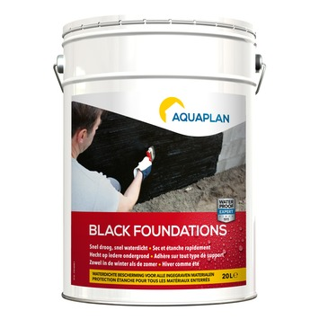 Aquaplan Black Foundations waterdicht 20 l