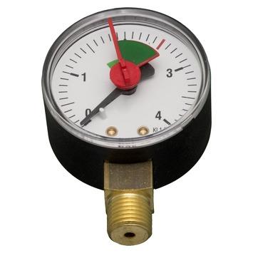 Levica manometer verwarming CV 0-4 bar
