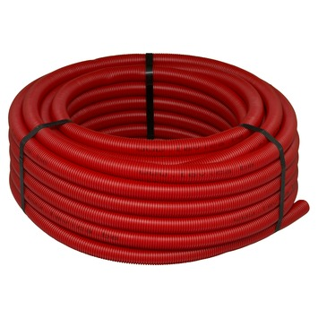 Levica buis VPE-c watertoevoer sanitair rood 25 m x 16 mm x 2,2 mm
