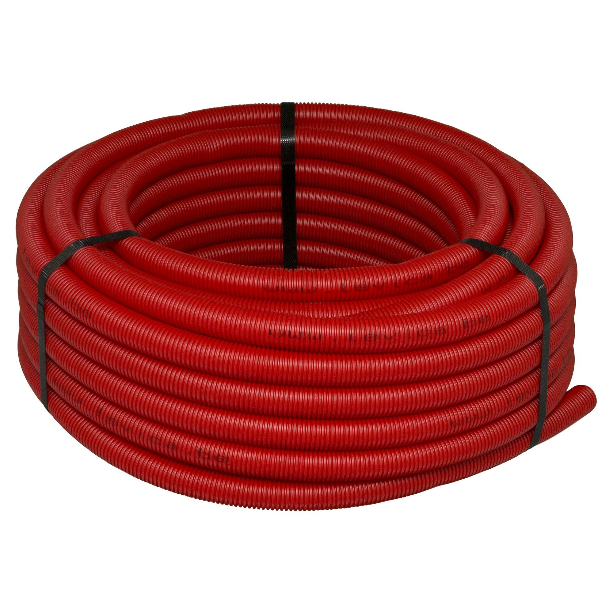 tuyau vpe c pour sanitaire levica 16x2 2 mm 10 m rouge mat riel de raccordement eau et gaz. Black Bedroom Furniture Sets. Home Design Ideas