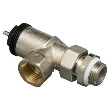 """Levica radiatorventiel haaks/verticaal thermostatisch 1/2"""""""