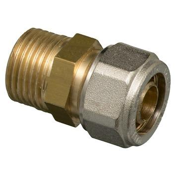 "Levica koppeling VPE-c watertoevoer sanitair buiten 16-2,2 mm x 1/2"" 2 stuks"