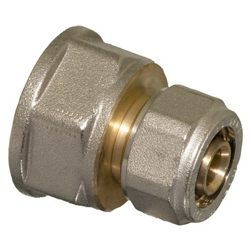 "Levica Superpipe koppeling recht sanitair en CV 3/4""F x 16 mm"