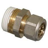 "Levica Superpipe koppeling recht sanitair en CV 3/4""M x 16 mm"