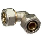 Levica Superpipe koppeling haaks sanitair en CV 20x20 mm