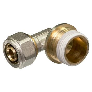 """Levica Superpipe koppeling haaks sanitair en CV 3/4""""M x 16 mm"""
