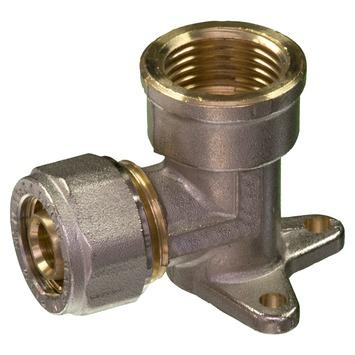 """Levica Superpipe opbouwstuk watertoevoer sanitair 1/2""""F x 16 mm 2 stuks"""
