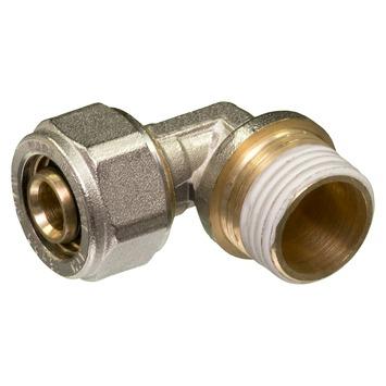 """Levica Superpipe koppeling haaks sanitair en CV 1/2""""M x 16 mm"""