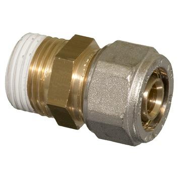 "Levica Superpipe koppeling recht sanitair en CV 1/2""M x 16 mm"