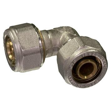 Raccord équerre Levica Superpipe pour CC et sanitaire 16x16 mm