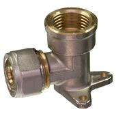 "Levica Superpipe opbouwstuk watertoevoer sanitair en CV 1/2"" x 16 mm"