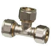 Raccord en T Levica Superpipe pour CC et sanitaire 16x16x16-2 mm