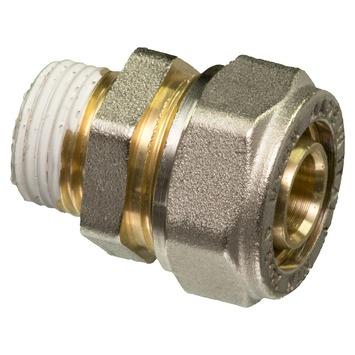 "Levica Superpipe koppeling recht sanitair en CV 1/2""M x 20 mm"