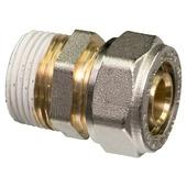 "Levica Superpipe koppeling recht sanitair en CV 3/4""M x 20 mm"