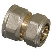 "Levica Superpipe koppeling recht sanitair en CV 3/4""F x 20 mm"