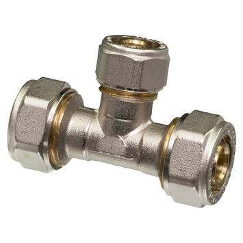 Levica Superpipe T-koppeling watertoevoer sanitair en CV 20x16x20 mm