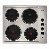 Plan de cuisson électrique KRH42EX Zanker 60 cm inox