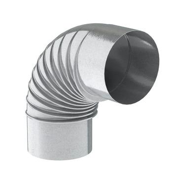 Coude 90° Saninstal galvanisé ø131 mm