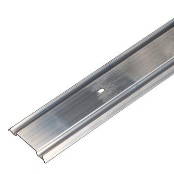 Aquaplan muuraansluitprofiel aluminium 2 m x 60 mm