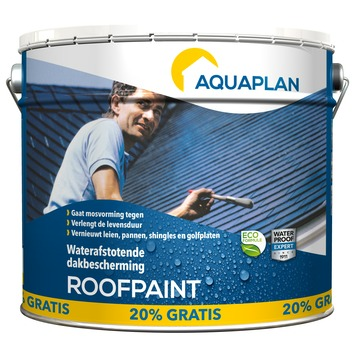 Aquaplan Roofpaint antraciet 10 l