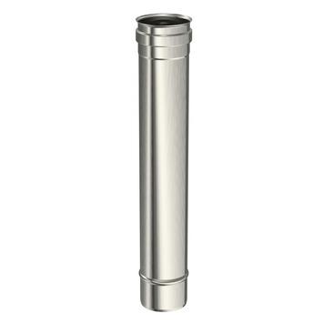 Saninstal buis voor pellet inox 50 cm x ø80 mm