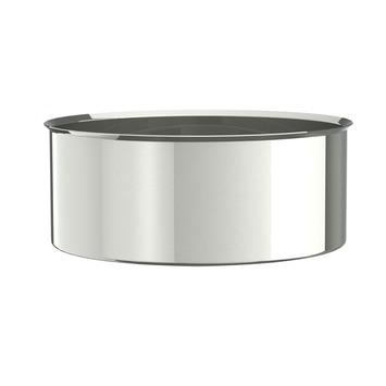 Saninstal dop voor pellet inox ø80 mm