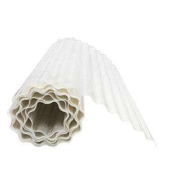 Panneau ondulé Kristal 100x300 cm translucide