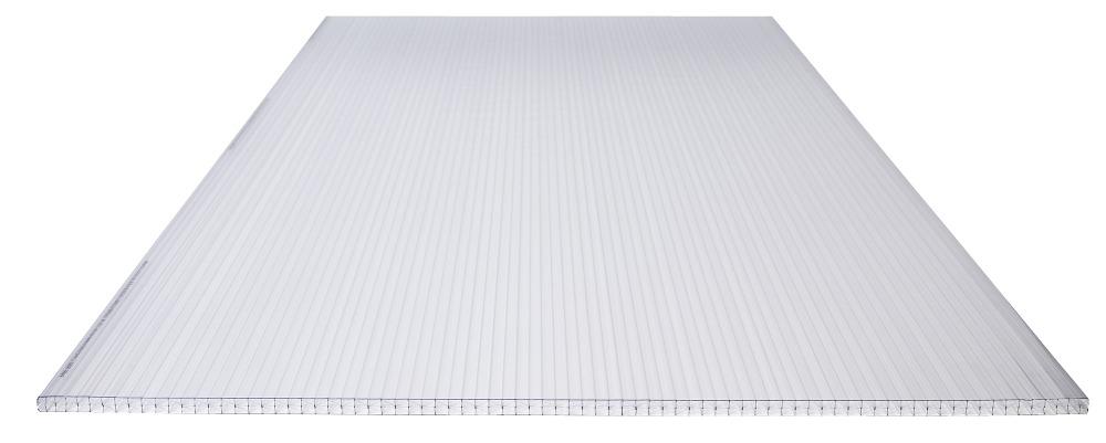 panneau en polycarbonate 3p 16 mm 98x250 cm translucide. Black Bedroom Furniture Sets. Home Design Ideas
