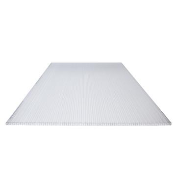 Panneau en polycarbonate 3P 16 mm 98x300 cm translucide