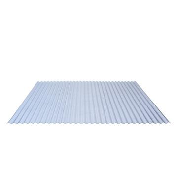 Panneau ondulé Kristal 32/9 98x244 cm translucide