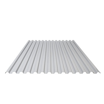 Panneau ondulé en PVC Greca 95,5x200 cm gris