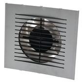 IVC Air Design inbouwventilator aluminium ø100 mm