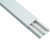 Moulure DLP Legrand 32x12,5 mm 210 cm 2 compartiments blanc